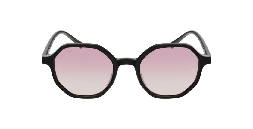Gafas de sol mujer DELFIA negro - vista de frente