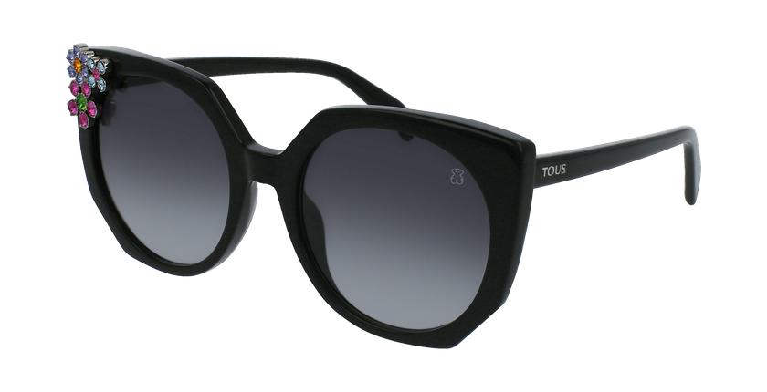 Gafas de sol mujer STOA41S negro/carey - vue de 3/4