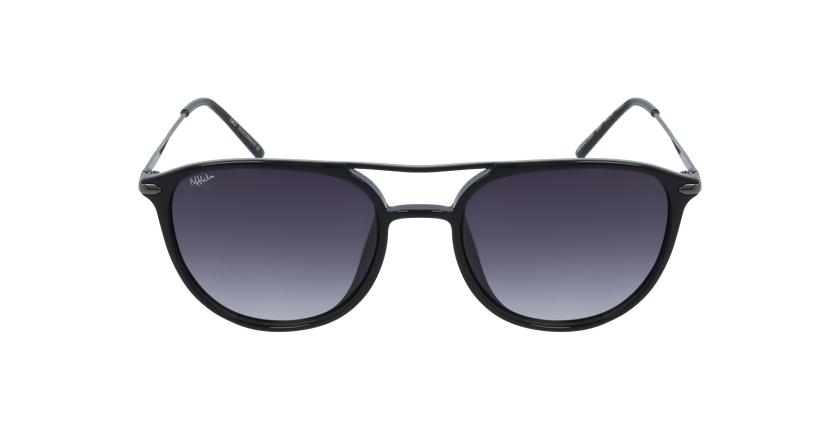 Gafas de sol hombre SALCEDO negro - vista de frente
