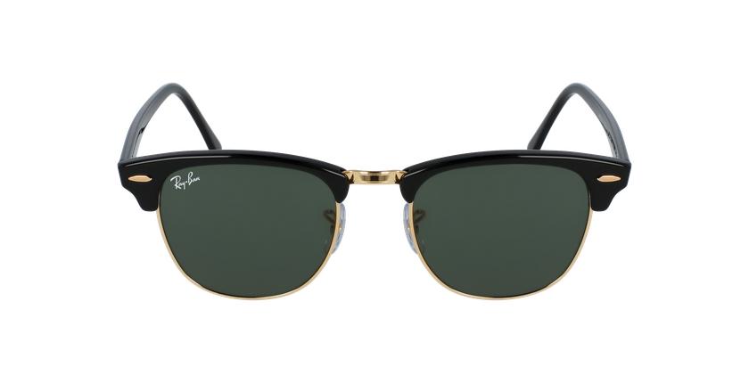 Gafas de sol CLUBMASTER negro/negro - vista de frente