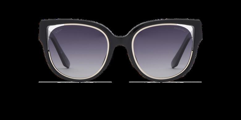 Gafas de sol mujer MAHEA POLARIZED negro/plateadovista de frente