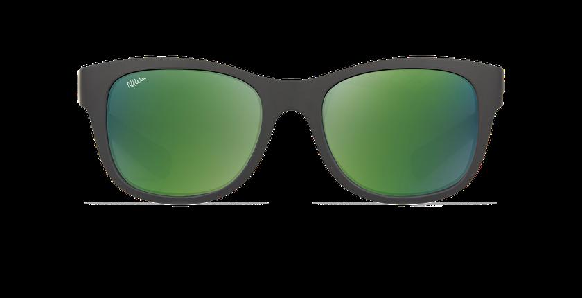 Gafas de sol niños YANI negro/verde - vista de frente