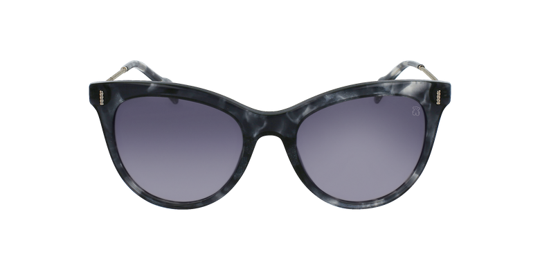 Gafas de sol mujer STOA32 negro/blancovista de frente