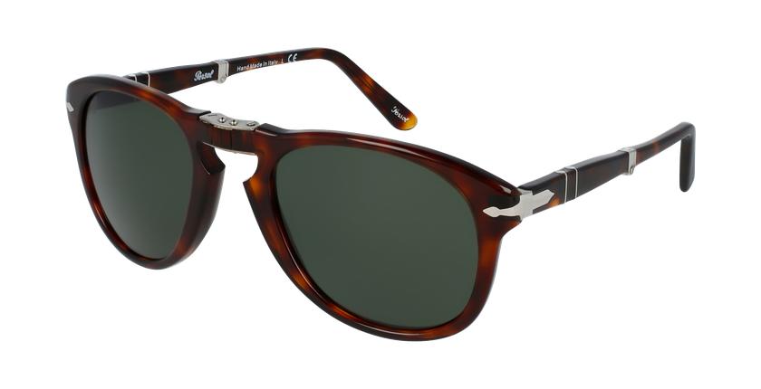 Gafas de sol hombre 0PO0714 marrón - vue de 3/4