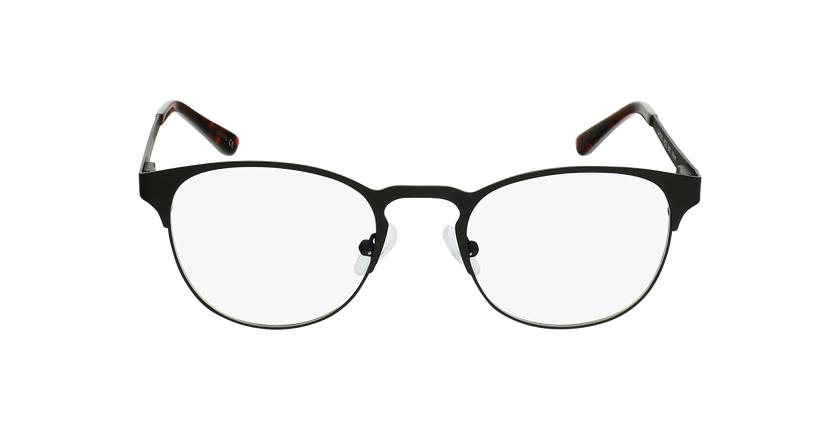 Gafas graduadas hombre XAVIER negro - vista de frente
