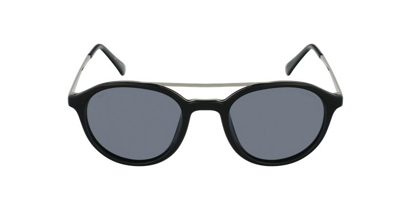 Gafas de sol GLENN POLARIZED negro/plateado - vista de frente