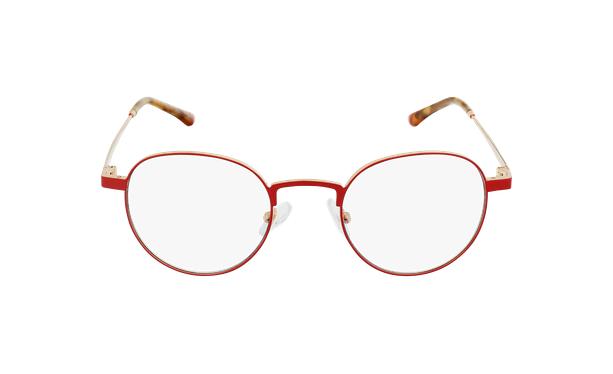 Gafas graduadas MAGIC 70 rojo/dorado - vista de frente
