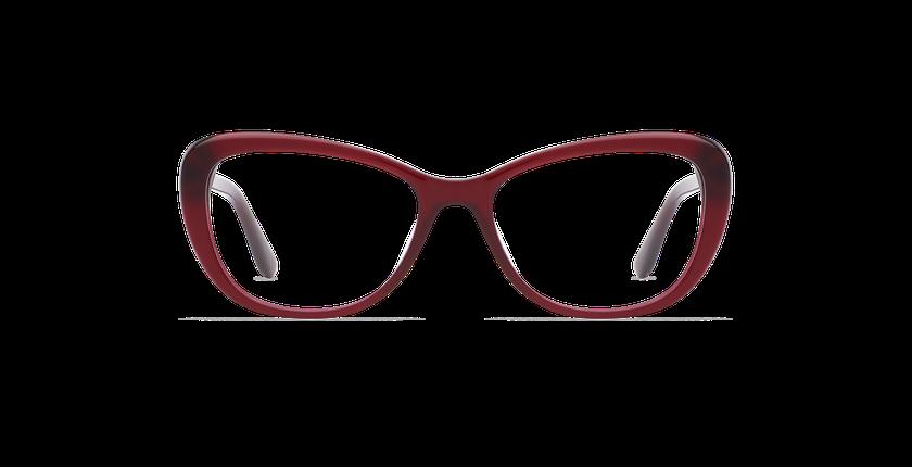Gafas graduadas mujer CINDY rojo - vista de frente