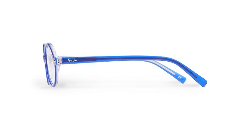 Gafas graduadas niños LAYAN azul - vista de lado
