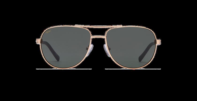 Gafas de sol hombre TAO dorado - vista de frente