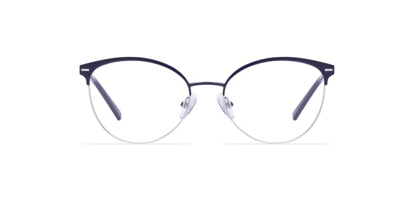 Gafas graduadas mujer SUE azul - vista de frente