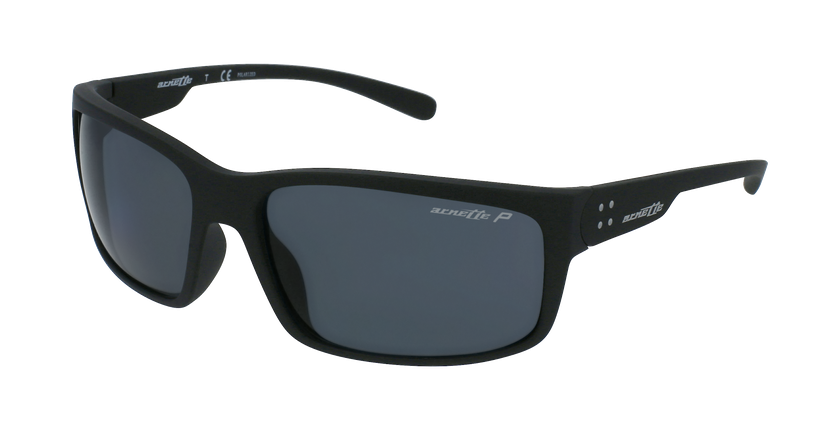 Gafas de sol hombre FASTBALL 2.0 negro - vue de 3/4