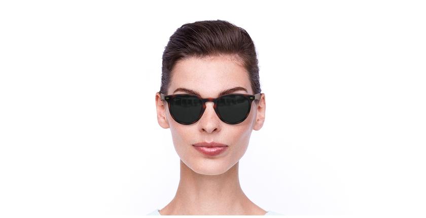 Gafas de sol H2O carey - vista de frente