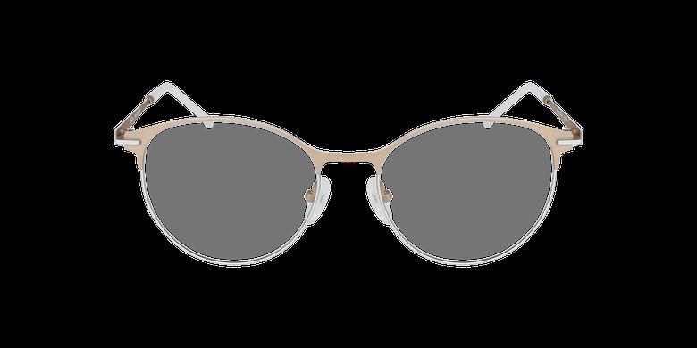 Gafas graduadas mujer MEROPE beige/blanco