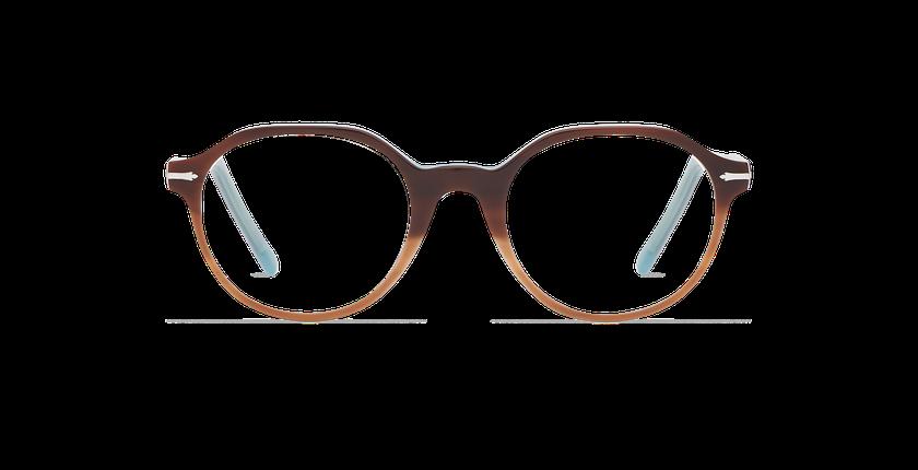 Gafas graduadas hombre MOREZ carey/azul - vista de frente