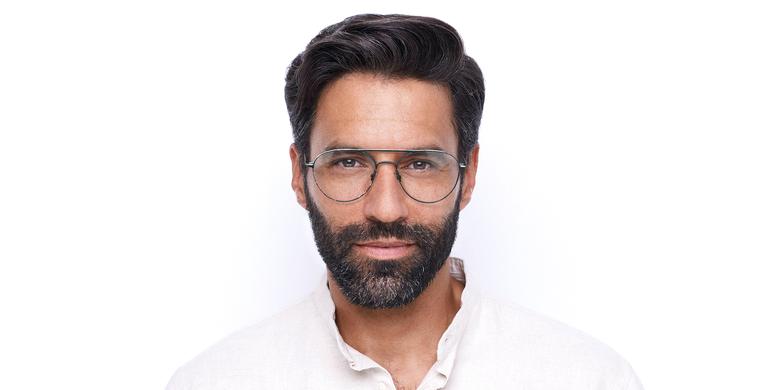 Gafas graduadas hombre MERCURE azul/blanco
