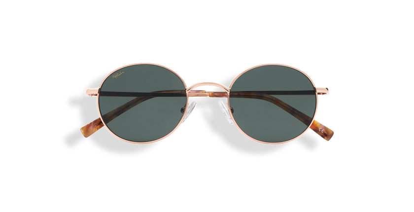 Gafas de sol ROMAN dorado - vista de frente