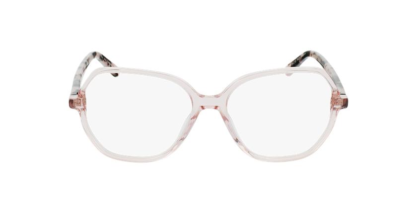 Gafas graduadas mujer CONSTANCE rosa - vista de frente