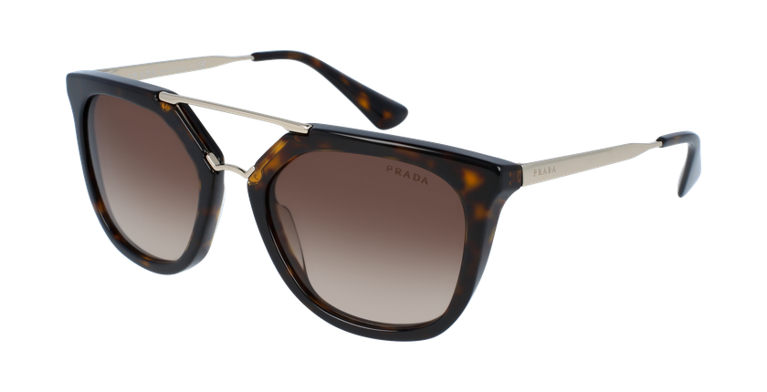 Gafas de sol mujer 0PR 13QS marrón - vue de 3/4