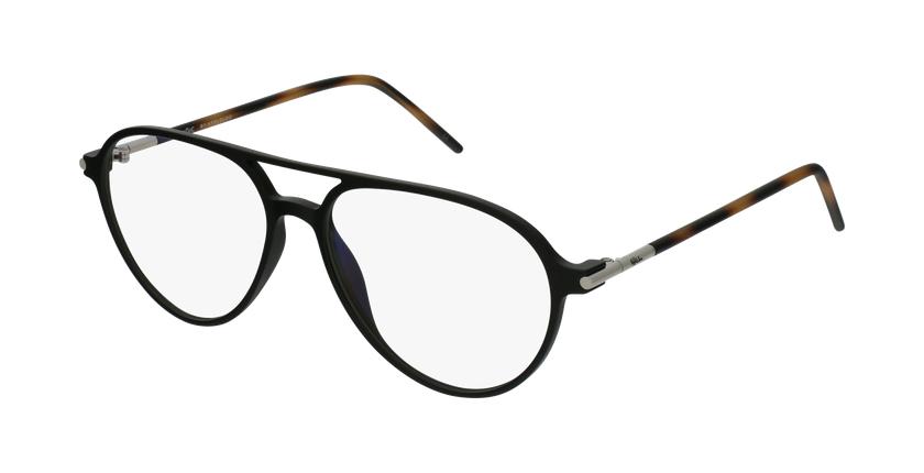 Gafas graduadas MAGIC 75 negro/carey - vue de 3/4
