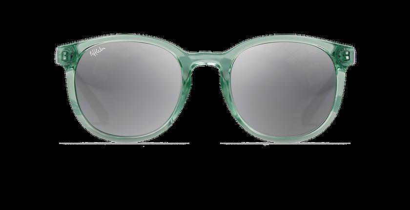 Gafas de sol mujer ARUBA verde/rosa - vista de frente