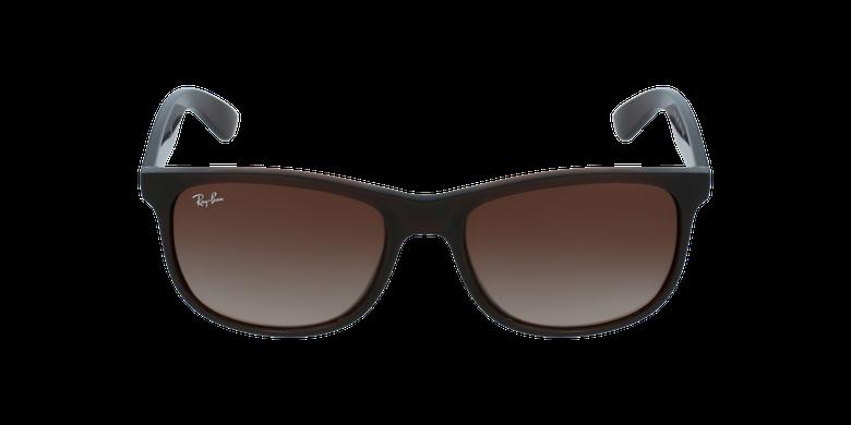 Gafas de sol hombre ANDY marrónvista de frente