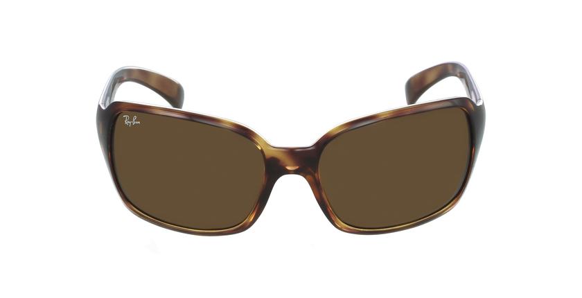 Gafas de sol mujer 0RB4068 marrón/carey - vista de frente