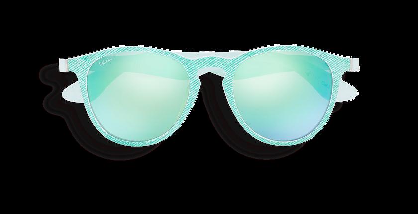 Gafas de sol mujer VARESE POLARIZED verde - vista de frente