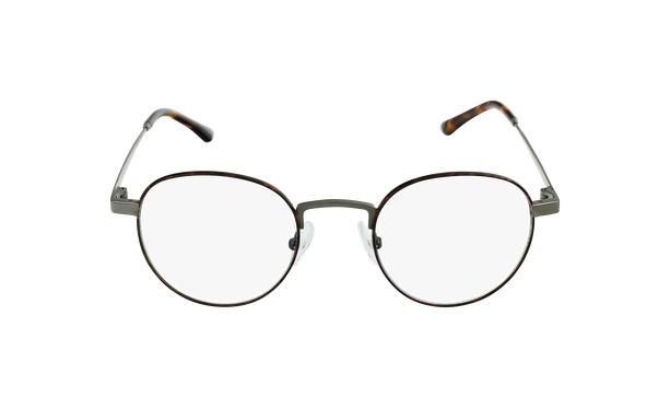 Gafas graduadas MAGIC 70 carey/plateado - vista de frente