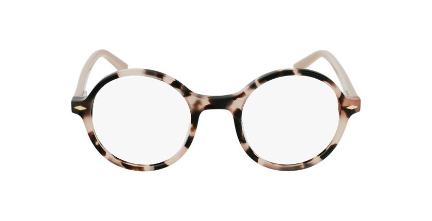 Gafas graduadas CAMELIA carey/rosa - vista de frente