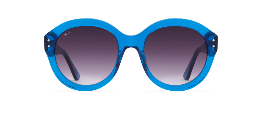 Gafas de sol mujer ALYSSA azul - vista de frente