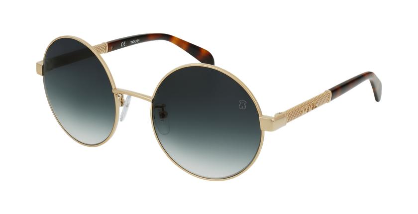Gafas de sol mujer STO407 dorado/rosa - vue de 3/4
