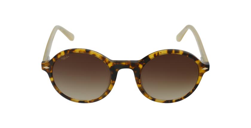 Gafas de sol mujer CALYPSO carey/amarillo - vista de frente