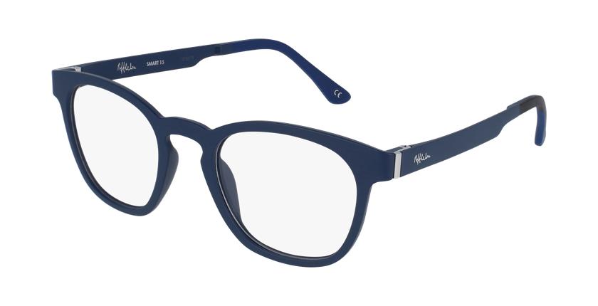 Gafas de sol hombre MAGIC 15 azul/azul oscuro mate - vue de 3/4