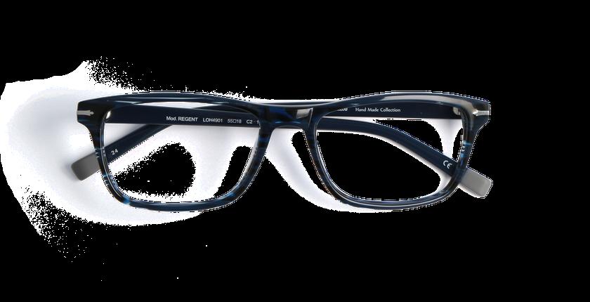 Gafas graduadas hombre REGENT azul/carey - vista de frente