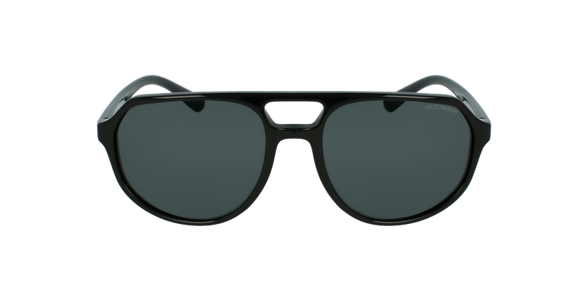 Gafas de sol hombre 0EA4111 negro - vista de frente