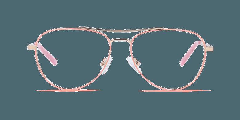 Gafas graduadas mujer MAHE rosavista de frente