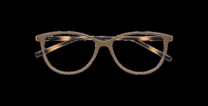Gafas graduadas mujer LIGHT TONIC marrón - vista de frente