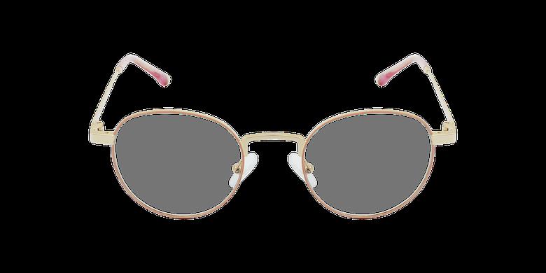 Gafas graduadas MAGIC 70 rosa/doradovista de frente