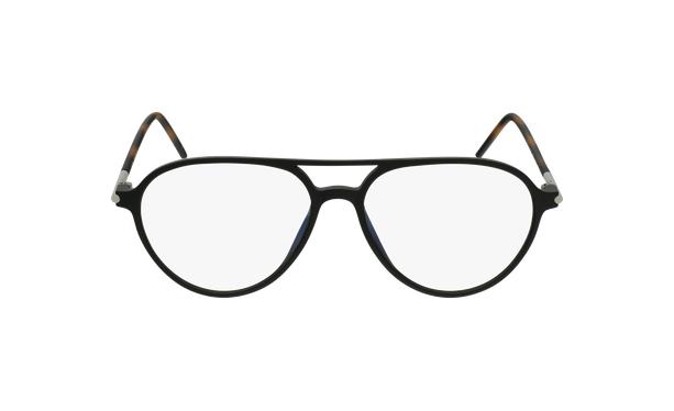 Gafas graduadas MAGIC 75 negro/carey - vista de frente