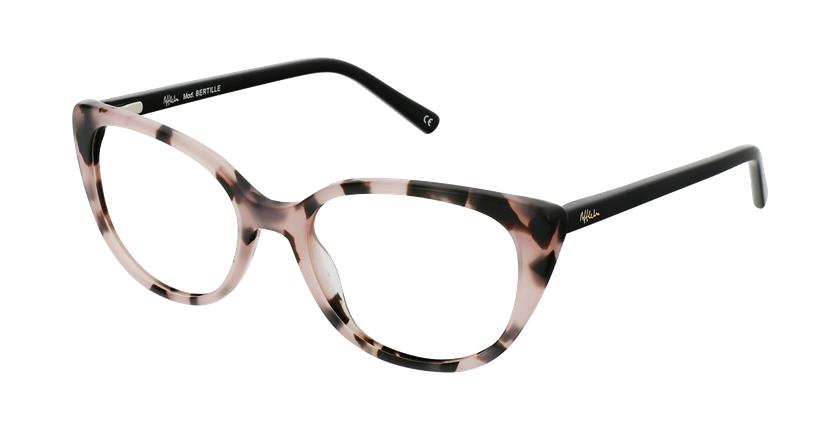 Gafas graduadas mujer OAF21621 rosa - vue de 3/4