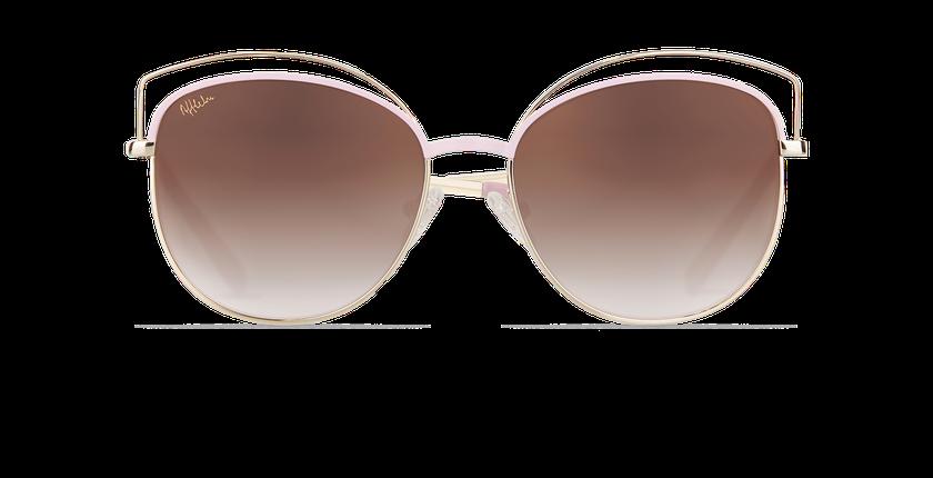 Gafas de sol mujer BETTY rosa/dorado - vista de frente