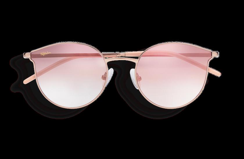 Gafas de sol mujer MELROSE dorado - danio.store.product.image_view_face