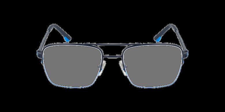 Gafas graduadas hombre VPL879 azul/negrovista de frente