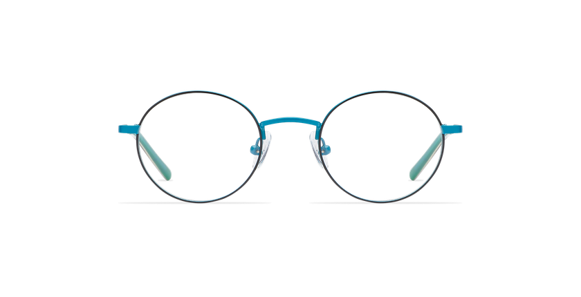 Gafas graduadas niños LOIS azul/negro - vista de frente