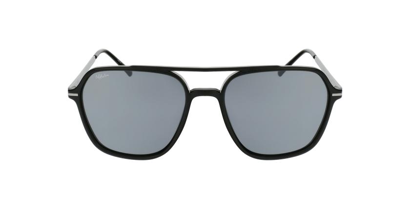 Gafas de sol hombre IBANEZ negro/gris - vista de frente