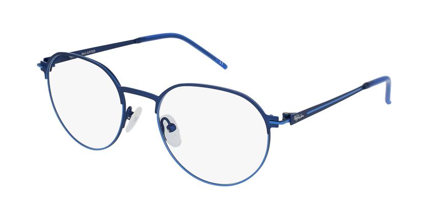 Gafas graduadas hombre JUPITER azul - vue de 3/4