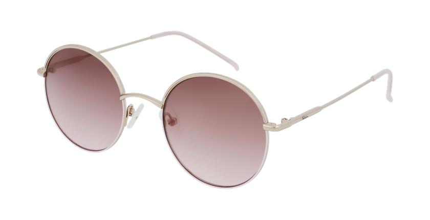 Gafas de sol PALOU dorado/rosa - vue de 3/4