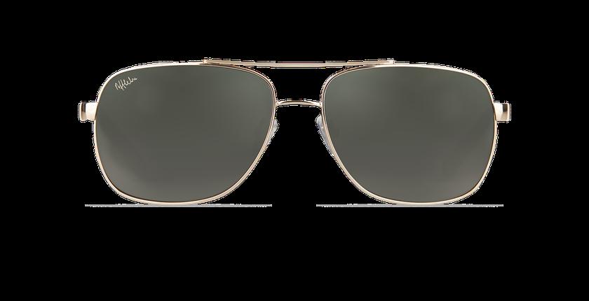 Gafas de sol hombre CRUZEIRO dorado - vista de frente