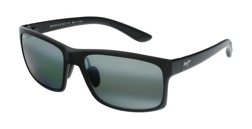 Gafas de sol Pokowai Arch negro/gris - vue de 3/4